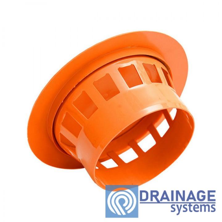 Грибок вентиляционный для наружной ПВХ канализации