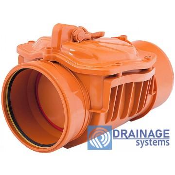 Обратный клапан 160 канализационный
