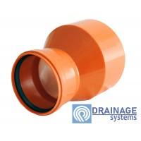 Редукция 250/200 для наружной ПВХ канализации