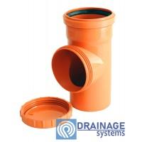 Ревизия 110 для наружной ПВХ канализации