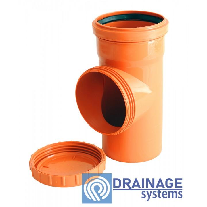 Ревизия 250 для наружной ПВХ канализации