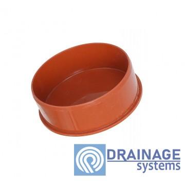 Заглушка 110 для наружной ПВХ канализации