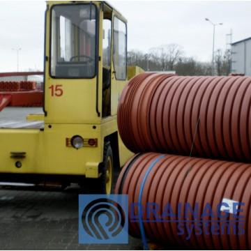 Труба 1000 мм гофрированная канализационная, SN8