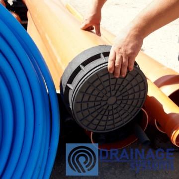 Колодец пластиковый 315/3000 мм канализационный дренажный