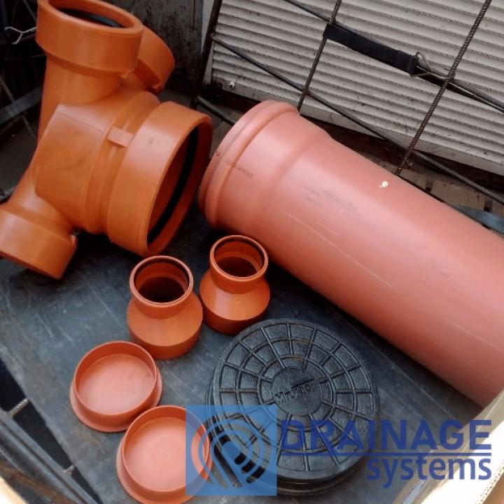Колодец пластиковый 315/1000 мм канализационный дренажный