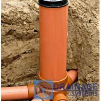 Колодец пластиковый 315/2000 мм канализационный дренажный