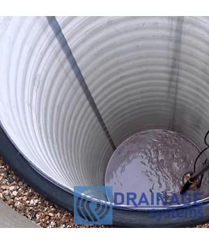 Труба пластиковая 1200/2000 мм большого диамера для колодца