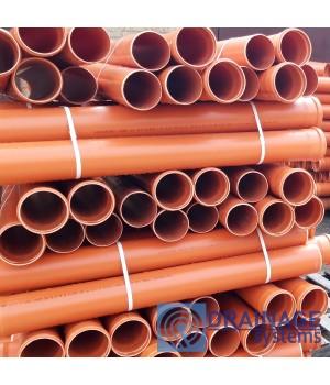 Труба ПВХ 110х3,2х500 мм пластиковая канализационная
