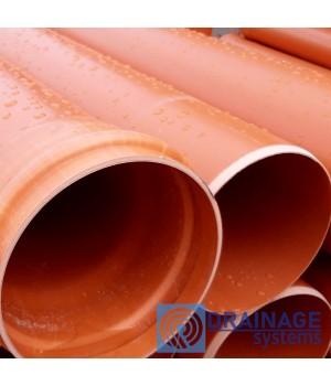 Труба ПВХ 160х3,2х500 мм  пластиковая канализационная