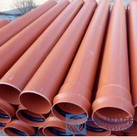 Труба ПВХ 200х4,9х6000 мм пластиковая канализационная