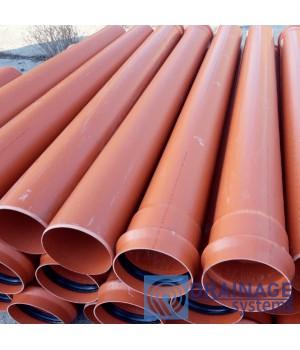 Труба ПВХ 200х3,9х500 мм пластиковая канализационная