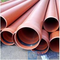 Труба ПВХ 315х7,7х2000 мм пластиковая канализационная