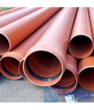 Труба ПВХ 315х6,2х2000 мм пластиковая канализационная