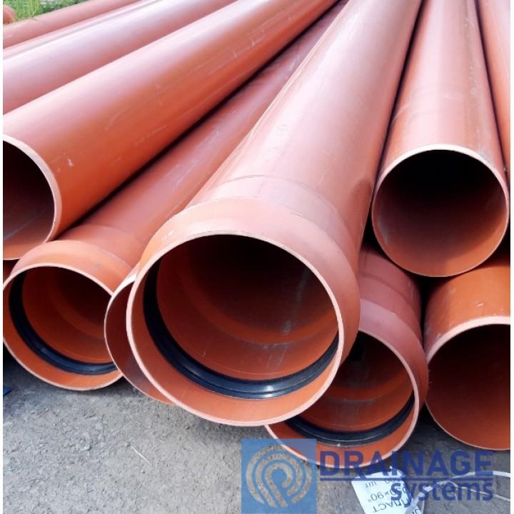 Труба ПВХ 315х7,7х3000 мм пластиковая канализационная