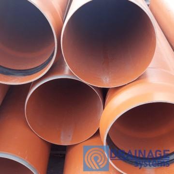 Труба ПВХ 200х4,9х1000 мм пластиковая канализационная